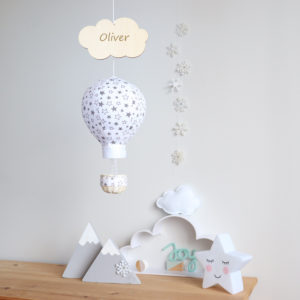 personalised baby room decor