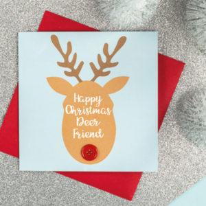 deer christmas cards