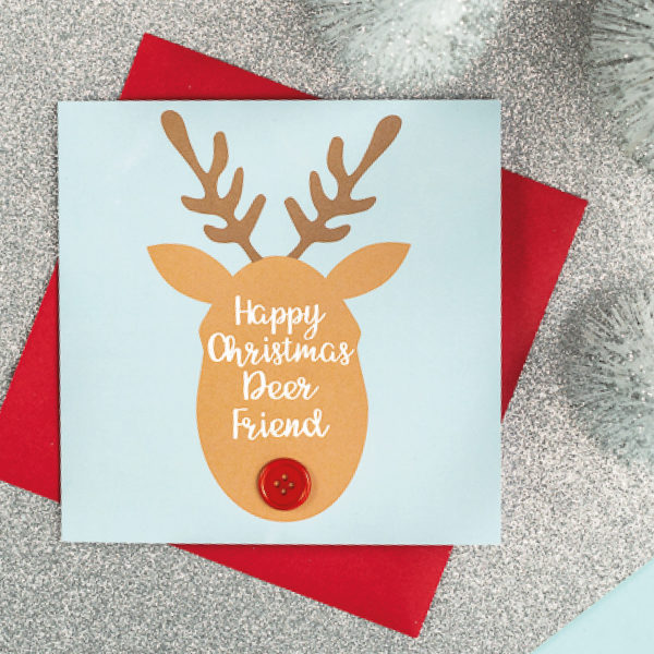 deer christmas cards