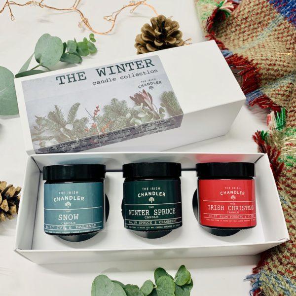christmas candle gift set