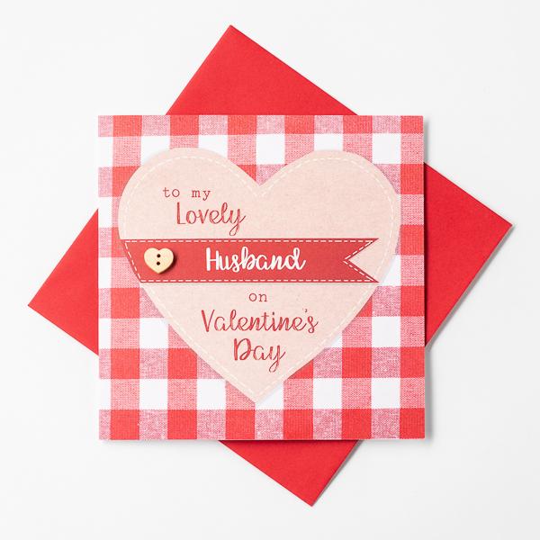 husband valentine card