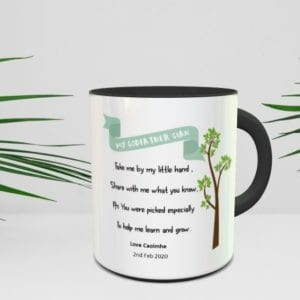 personalised godparent gift