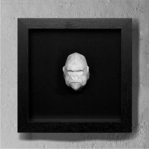 gorilla concrete art
