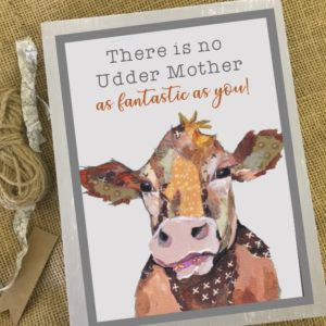 Personalised mothers day art