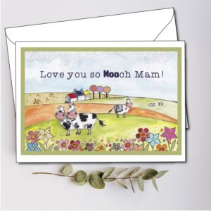 personalised mam card