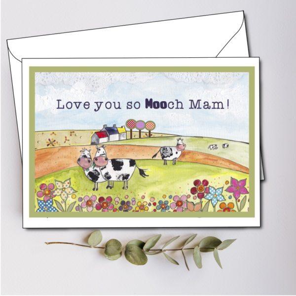 personalised mam card