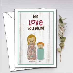 personalised mom cards