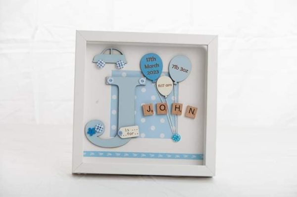 New Baby Picture Frames