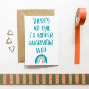 quarantine card