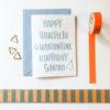 personalised quarantine birthday card