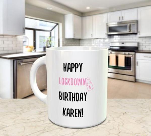 Happy Lockdown Birthday Mug