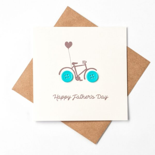 bike fathers day card