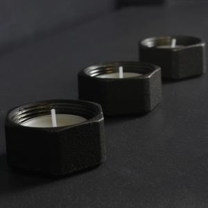 iron tealight holder