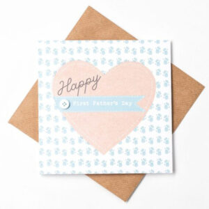 happy first fathers day card