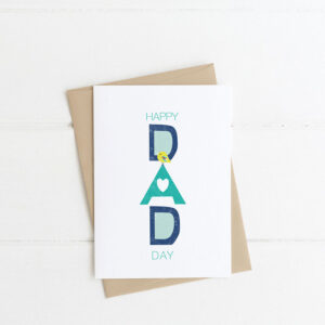 happy dad day card