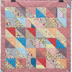 retro patchwork quilt