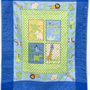 Safari animals Patchwork Quilt