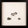 cow pebble art