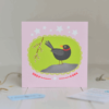 blackbird greeting card