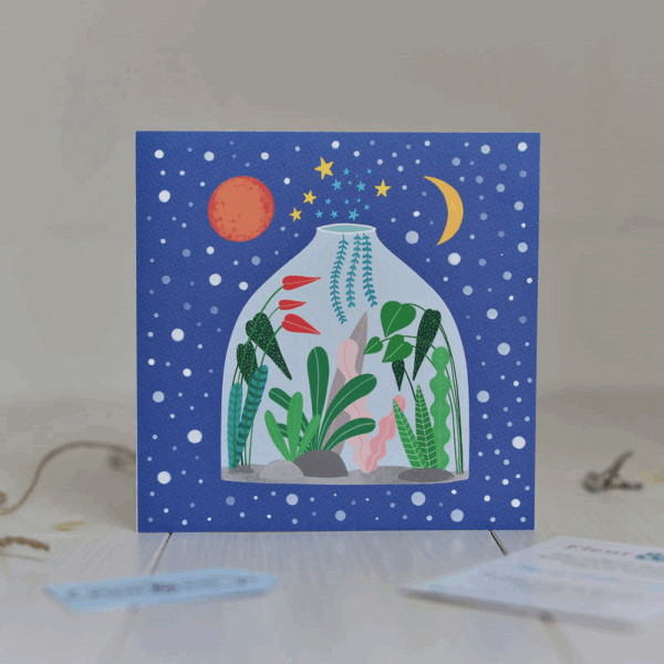 card for plant lovers