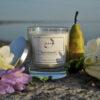pear and freesia candle
