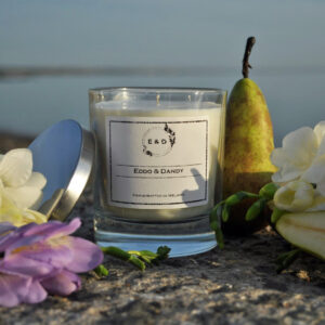 pear and freesia candle