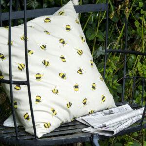bees cushion