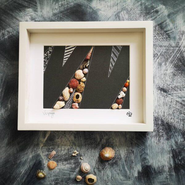 seashell artwork
