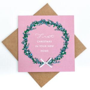 new home christmas card