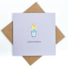 comhghairdeas craft card