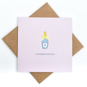 congratulations bubbles card
