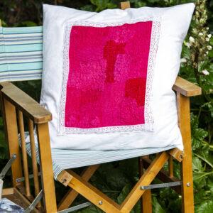 vintage irish linen cushions