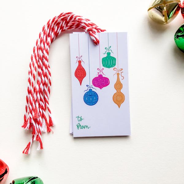 christmas decoration gift tags