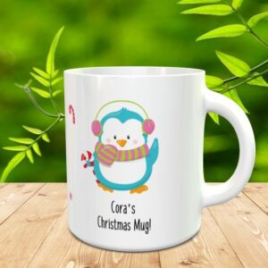 kids christmas mug