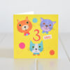 third birthday card