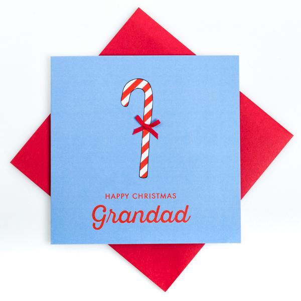 happy christmas grandad card