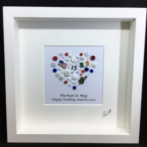 Personalised Anniversary Frame