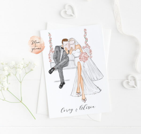 customised wedding cards