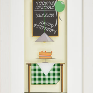Personalised Happy Birthday Frame