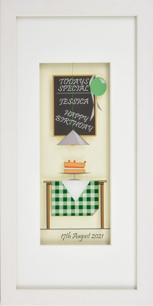 Personalised Happy Birthday Frame