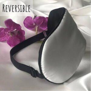 reversible silk sleep mask