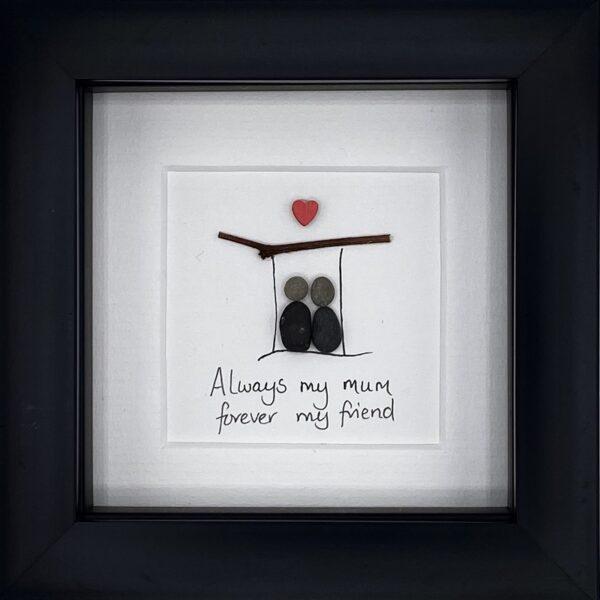 mum pebble art