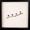 bird pebble art