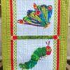 hungry caterpillar patchwork quilt