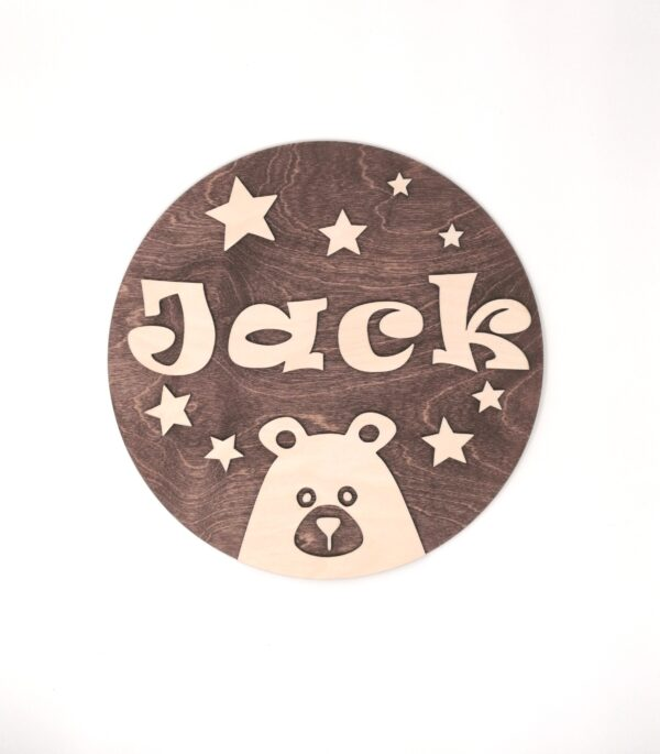 childrens wall sign