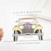 rolls royce wedding car art