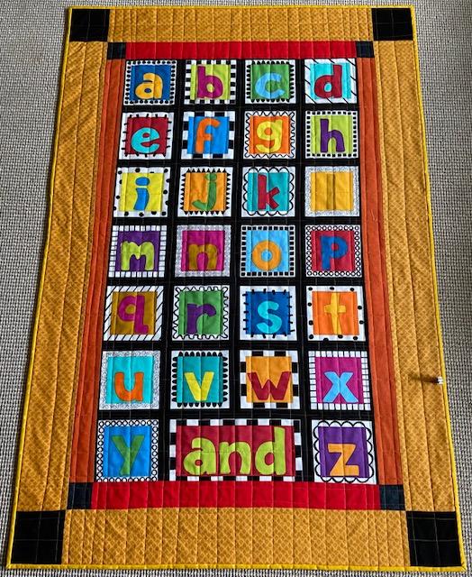 abcs patchwork quilt