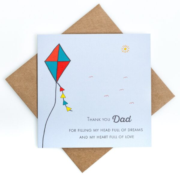 thank you dad fathers day card