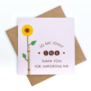 sna thank you card