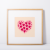 love hearts print
